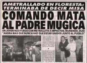 Mugica - titular diario muerte 01