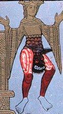 Hildegarda de Bingen (anticristo saliendo de la Iglesia)